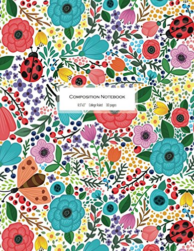 Composition Notebook - College Ruled: Beautiful Journal To Write In (Trendy Journal)