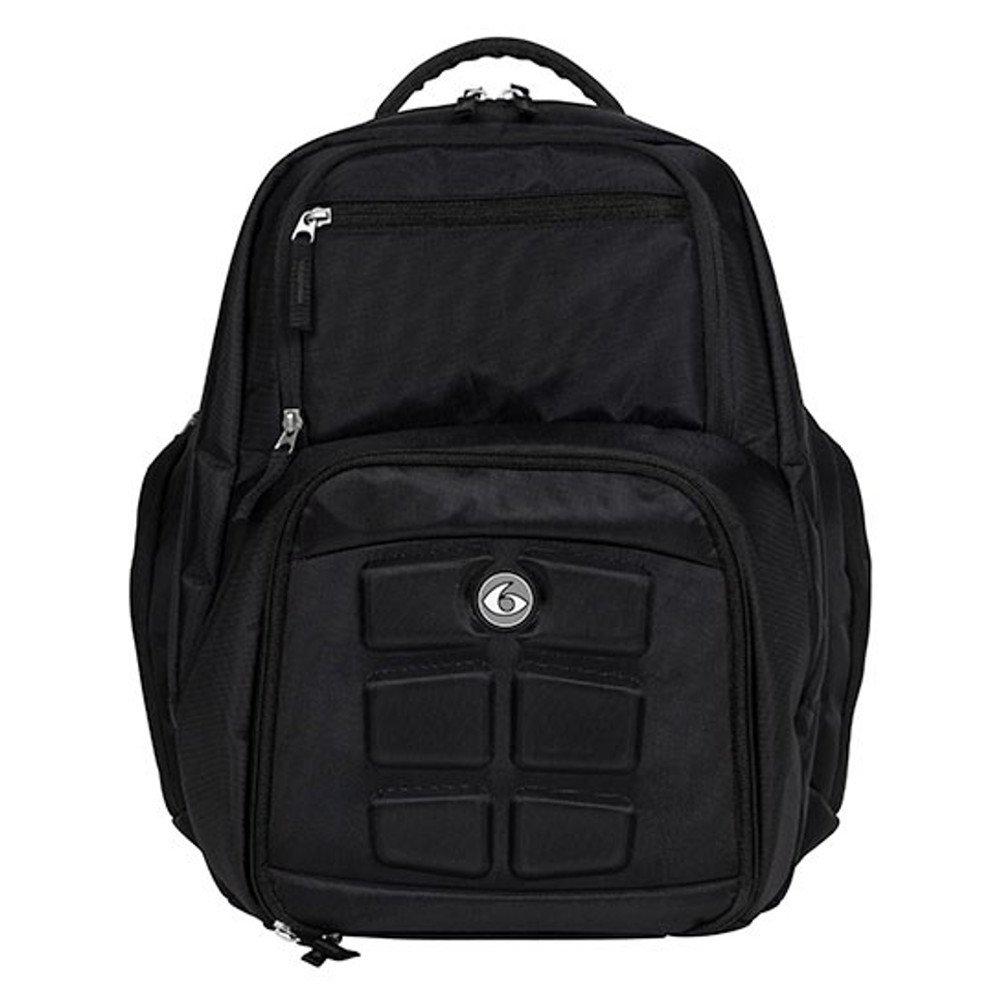 6 Pack Fitness Expedition 300 Stealth Black Bag BLACK
