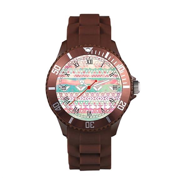 Sueño etapa triángulos plástico deportivo para hombre correa Relojes Mujer reloj de pulsera para hombre