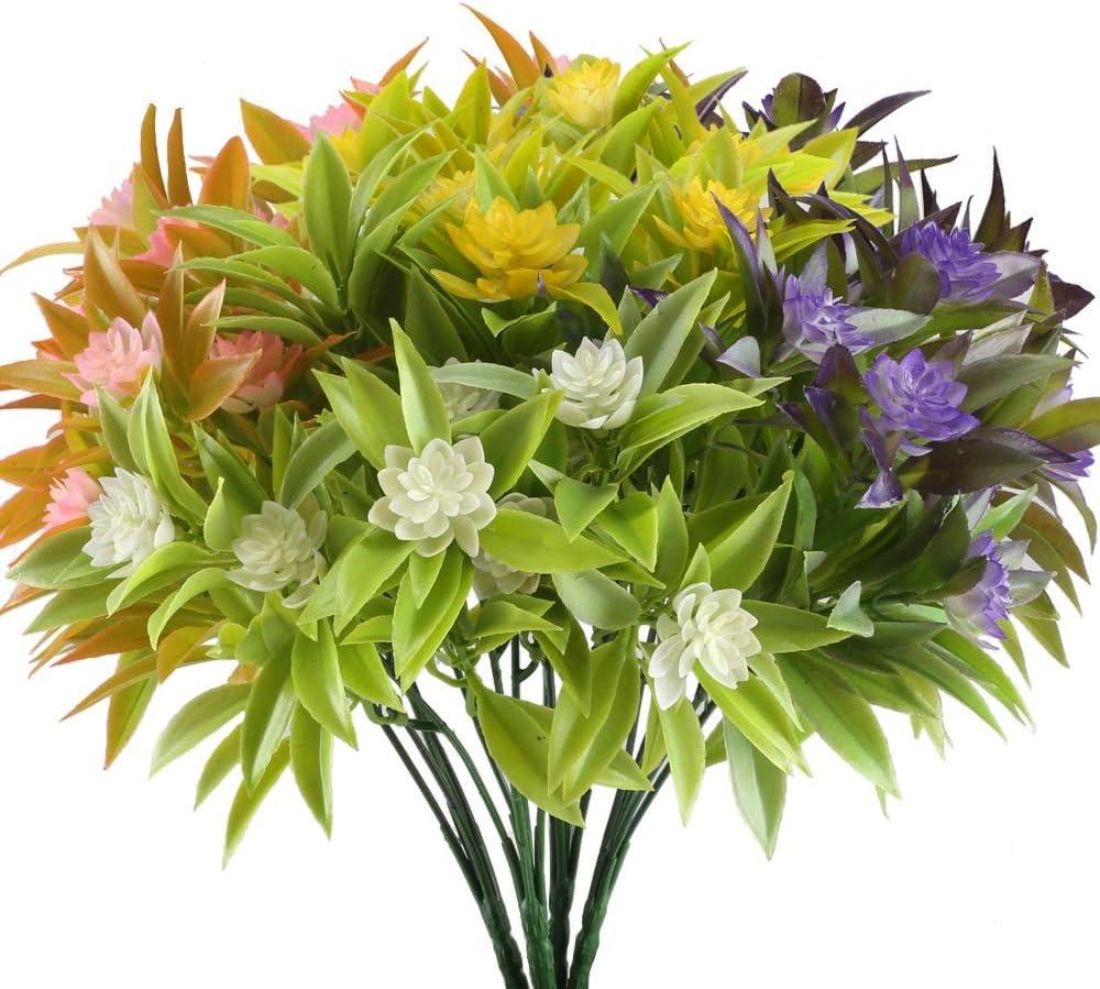 Nahuaa Artificial Fake Flowers Bundles