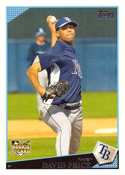 2009 Topps Baseball 35 David Price Rookie Card