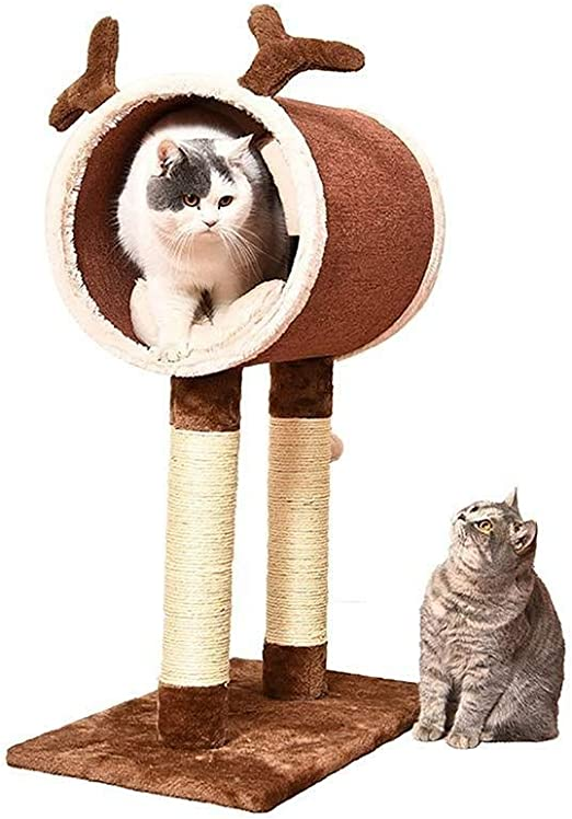 Juguete para Mascotas con Escalada para Gatos, Cama para Mascotas ...