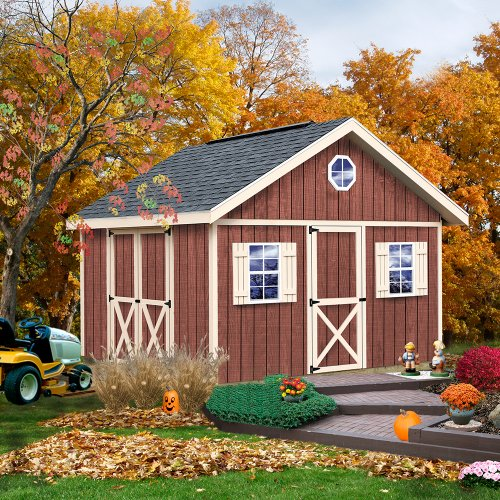 Best Barns Fairview 12′ X 12′ Wood Shed Kit For Sale
