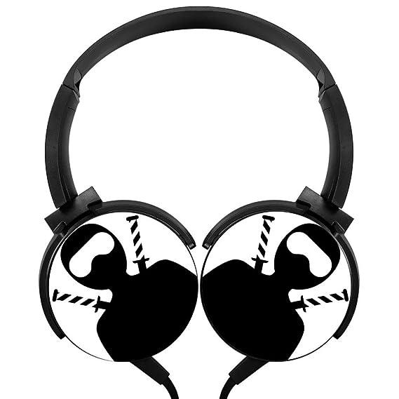 Amazon.com: PjNnt Ninja Bass Subwoofer Wired Headphones ...