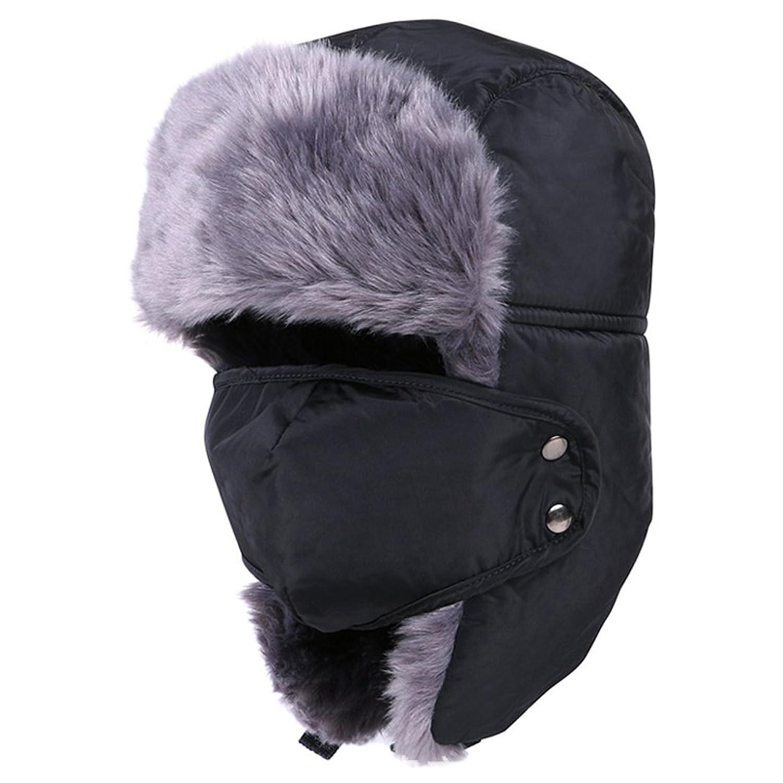 Mondaynoon Warm Unisex Klassische Trappermütze / Classic Trapper Hat Trooper Jagd-Hut / Hunting Hat / Winter-Ear Flap Hat
