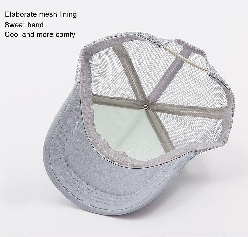 ac2ab47be2d Waldeal Adult Unisex Rainbow Unicorn Baseball Caps Visor Hat for Outdoor  Sports