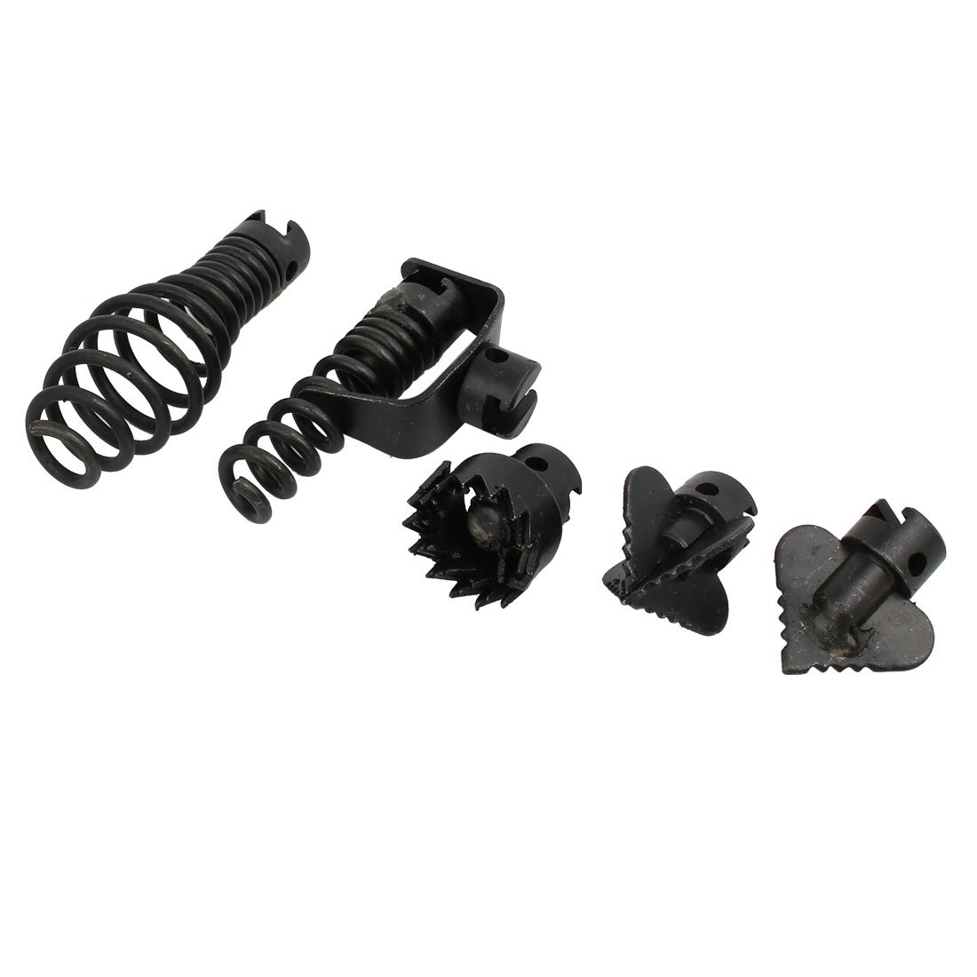 uxcellManganese Steel Drain Cleaner Combination Cutter Set Black