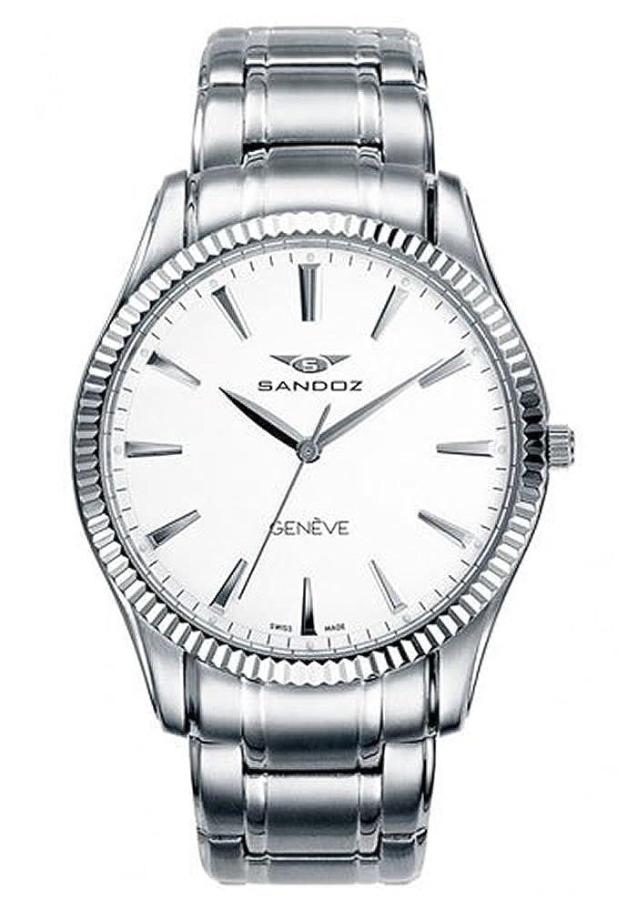 SANDOZ CLASSIC & SLIM 81357-00. Reloj suizo extraplano, de hombre ...