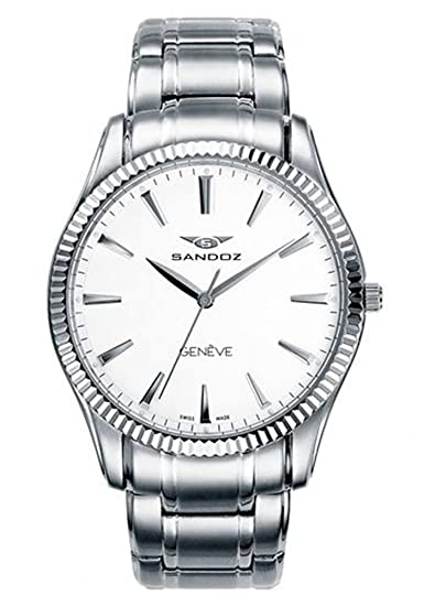SANDOZ CLASSIC & SLIM 81357-00. Reloj suizo extraplano, de hombre, con
