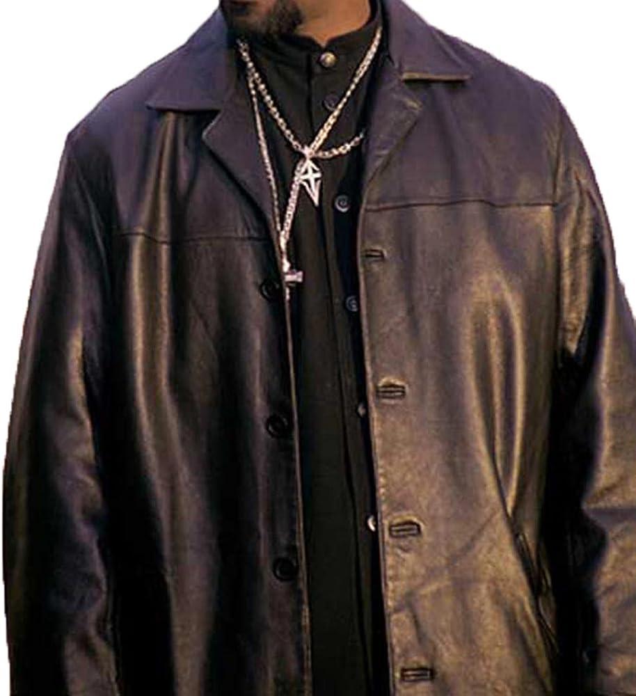 Training Day Alonzo Harris Denzel Washington Leather Jacket Xl Black At Amazon Men S Clothing Store [ 1000 x 918 Pixel ]