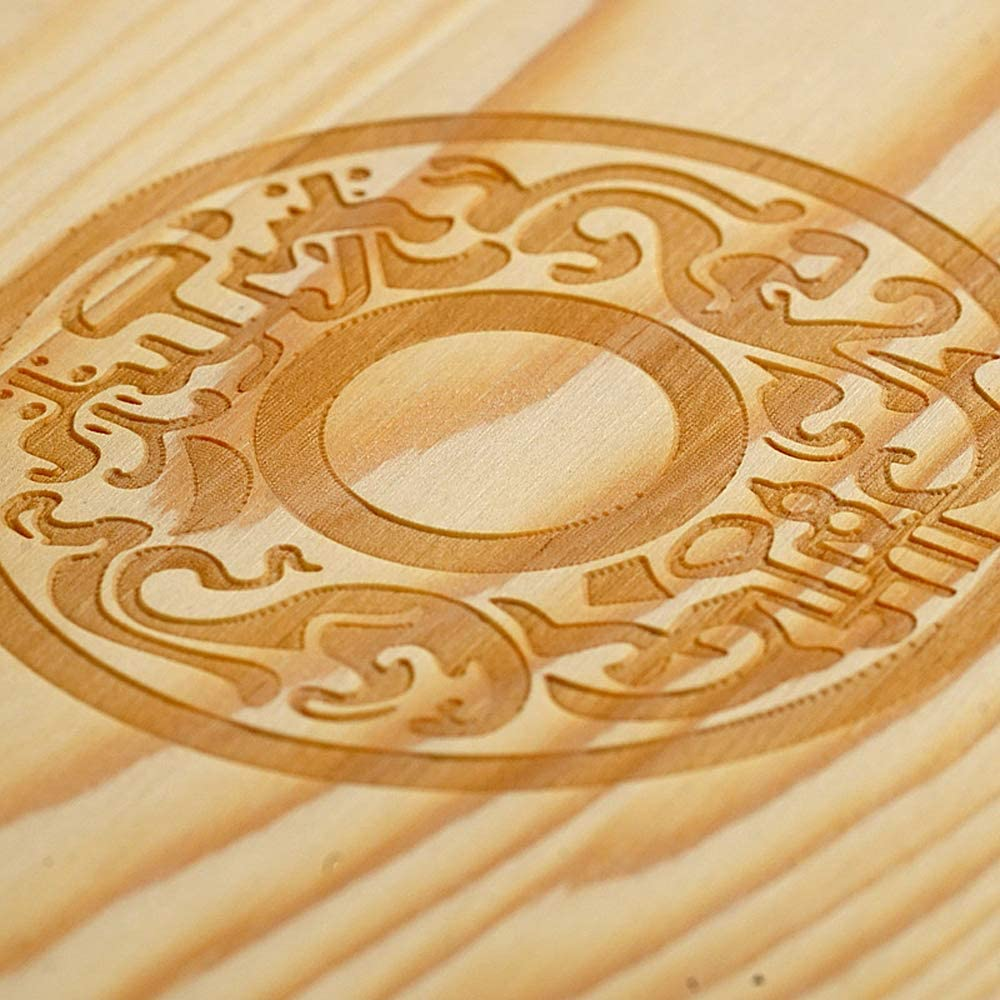Monete di Legno del Supporto di Pino per la Moneta Commemorativa da Collezione con Le Capsule di Accomodano Decdeal Contenitore di Monete