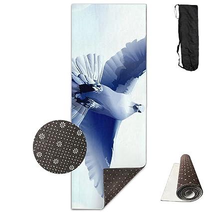 Amazon.com: Dove Bird Feather Fly Swing Yoga Mat,Crystal ...