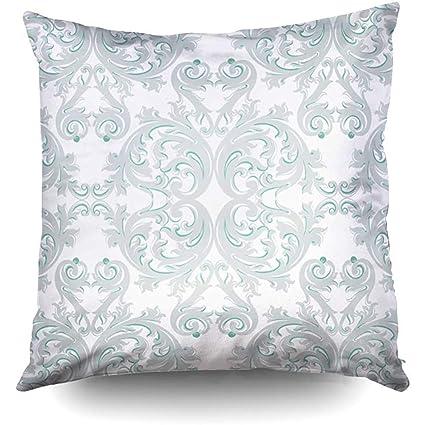 Amazon.com: XMas Damask Floral Ornament Pattern Delicate ...
