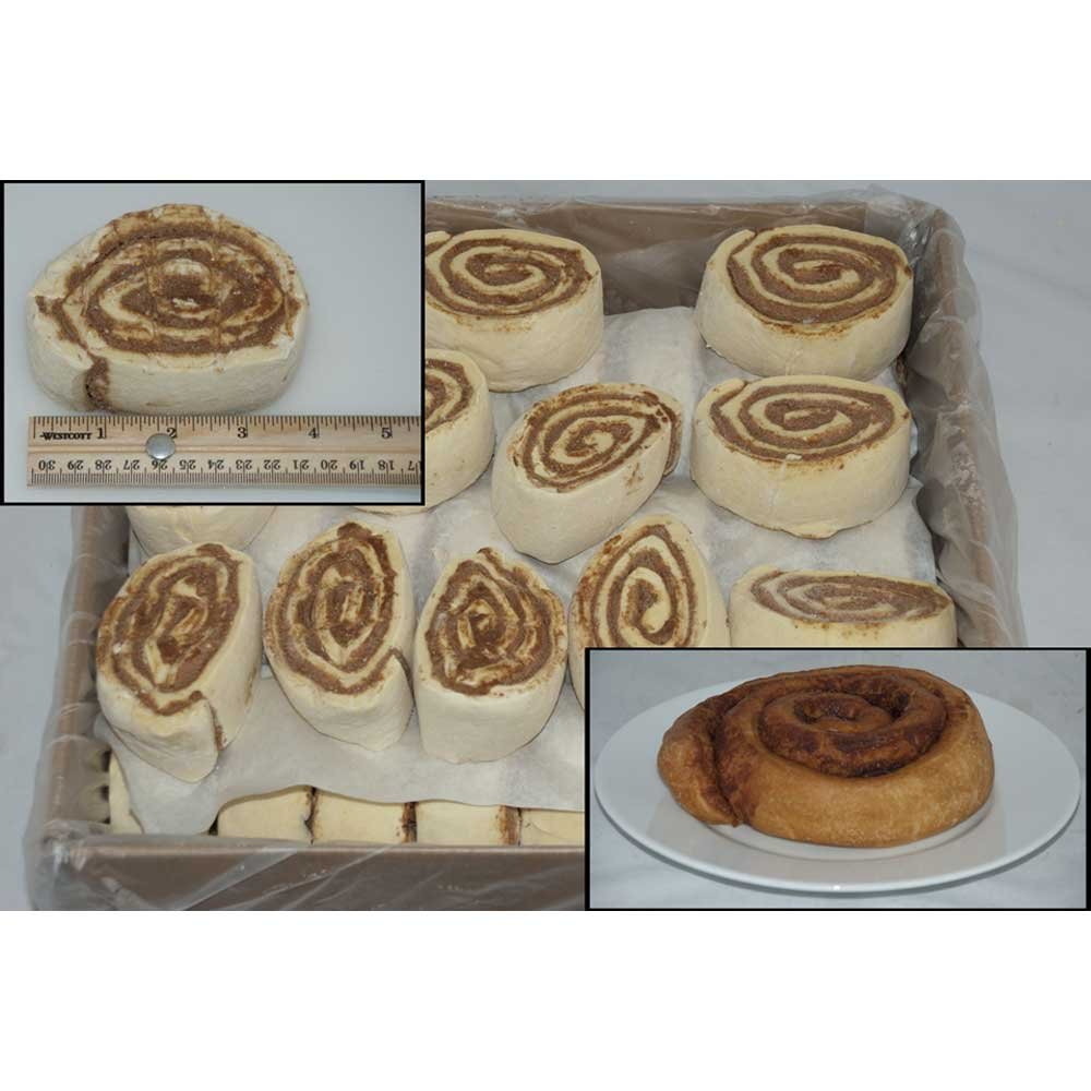 General Mills Pillsbury Plus Unbaked Classic Cinnamon Roll Dough, 6.5 Ounce - 60 per case.