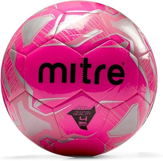 Mitre Impel Balon Futbol Rosa Talla 4: Amazon.es: Ropa y accesorios