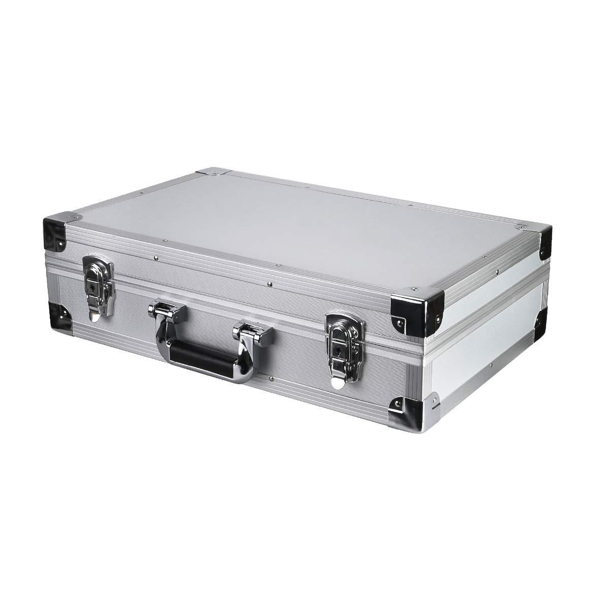 Retekess Sistema de Gu/ía Caja de Almacenamiento para Receptor V112 PR13 50 Ranuras