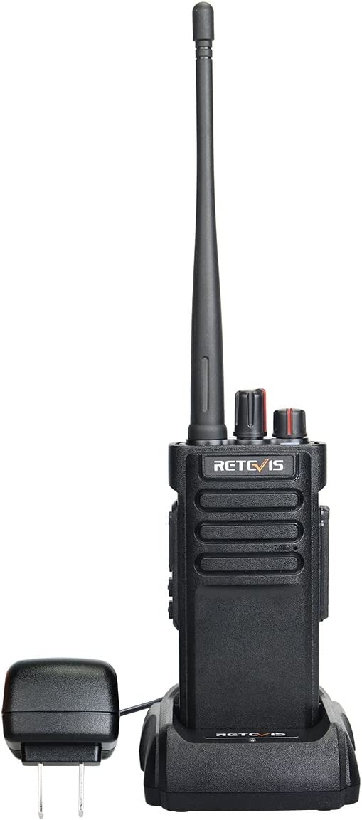 Retevis RT29 Two Way Radio Long Range VHF 3200mAh High Power 16 Channel Alarm Squelch VOX Walkie Talkies for Adults