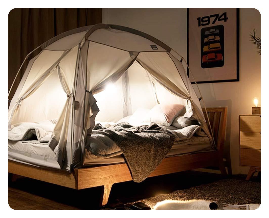 Prevent Coldness - 4Doors Play tent IDOOGEN DDASUMI Fabric Signature Indoor Tent 2017 Double Bed, Pink