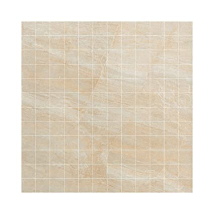 Samson 1044434 Anthology 1x1 Mosaic Floor Tile 12x12 Inch Beige 1