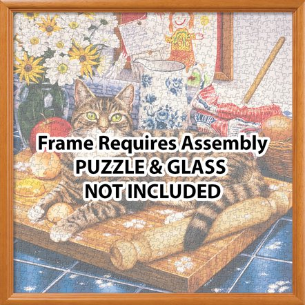 MasterPieces Natural Wood Puzzle Frame, 25