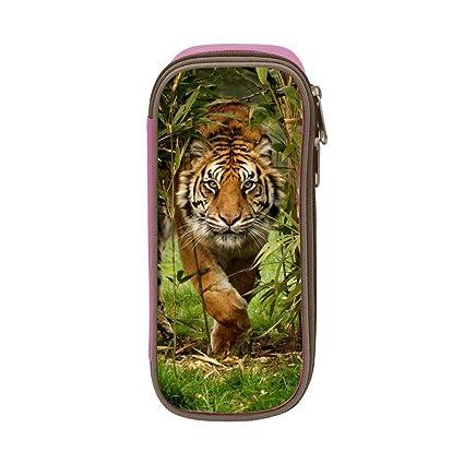 Forest Bengal Tiger Animal King - Estuche de lona para ...