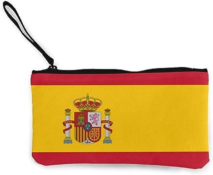Bandera de España Cartera de Embrague de Pulsera para Mujeres Niñas, Cartera de Cartera pequeña Bolso de Embrague de Mujer: Amazon.es: Equipaje