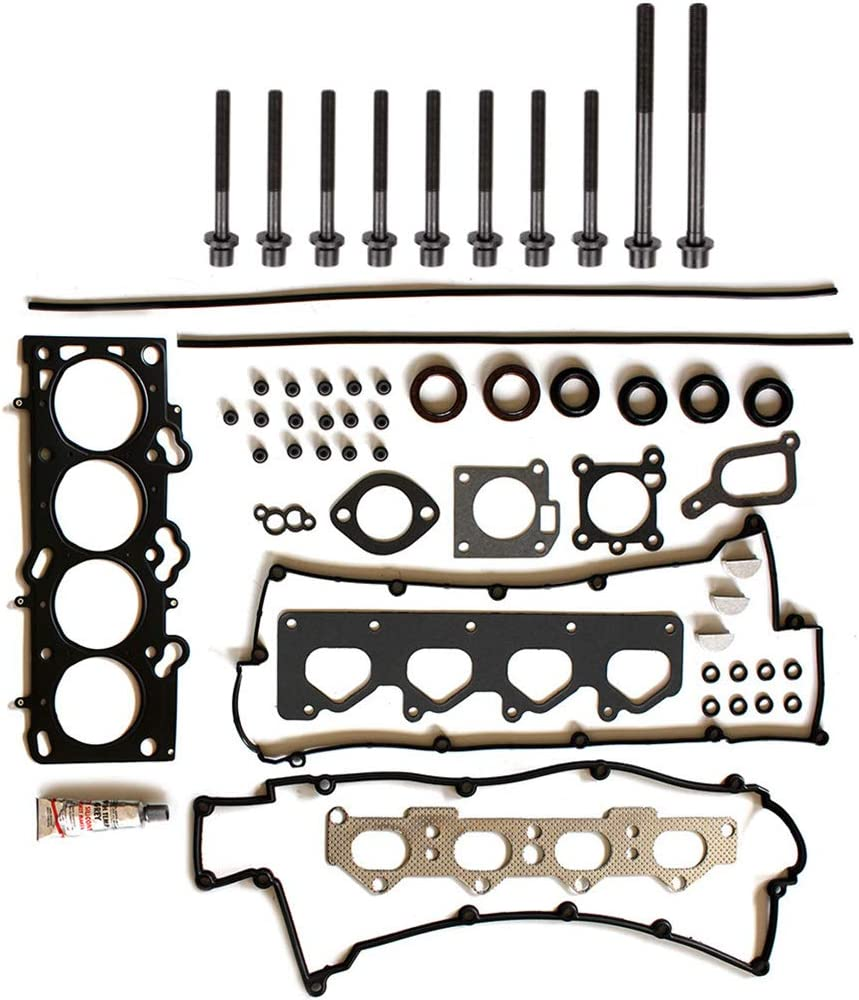 SCITOO Head Gasket Set with Bolts Replacement for Kia Spectra 4-Door Sedan 2.0L LX Premium