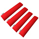 GAMPRO Car Seat Belt Pad Cover kit, 4-Pack Red