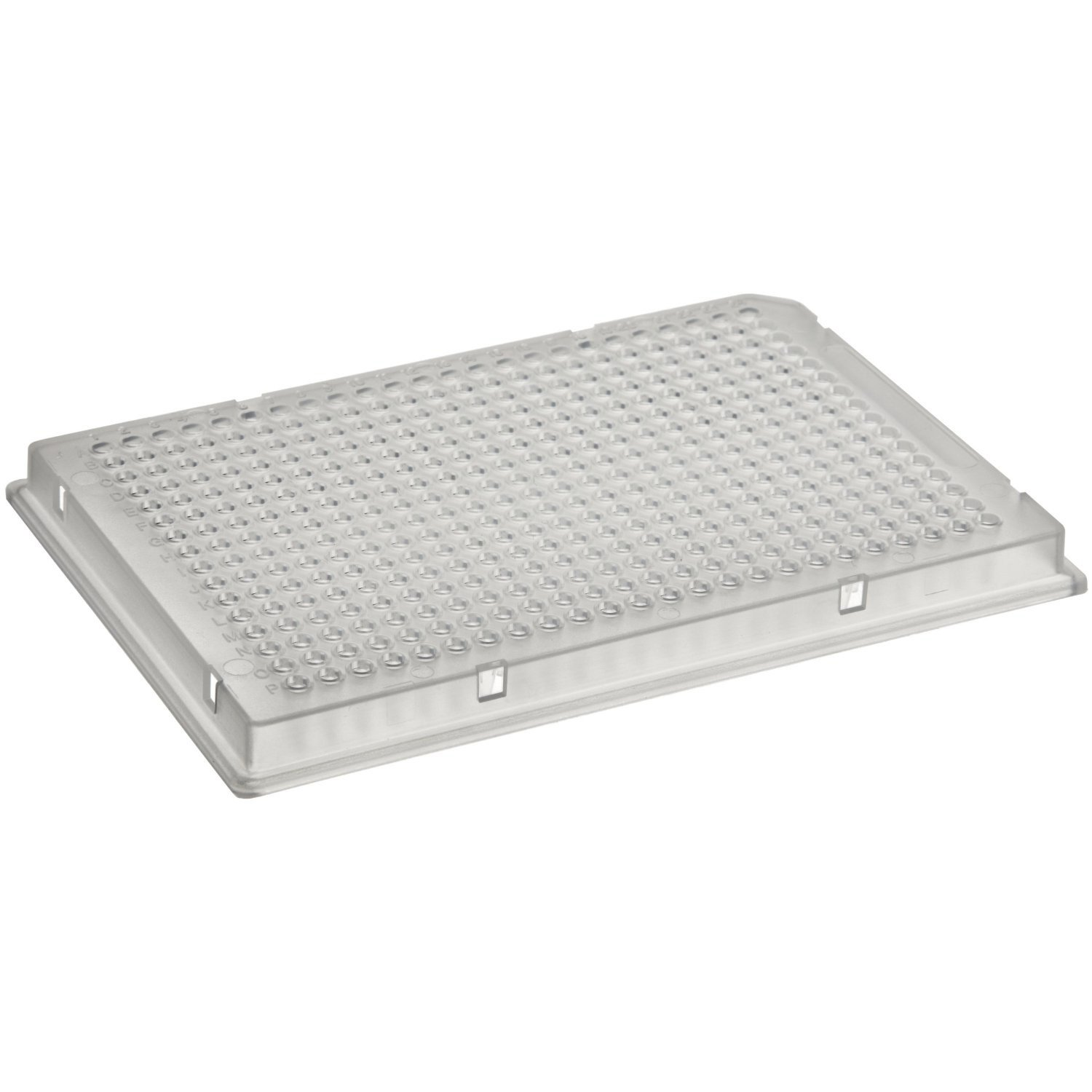 Corning 3701 Polystyrene Flat Bottom 384 Well Clear Microplate, With Lid, TC-Treated (Case of 100)