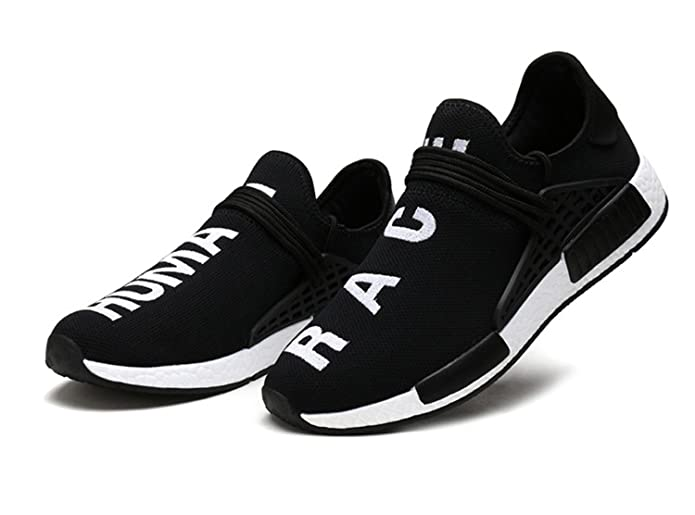 Amazon.com | AI Aleng Mens Womens Unisex Lightweight Fashion Sneakers Breathable Lace-up Athletic Sports Shoes Human Race Casual Running Shoes | Running