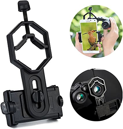Surplex Universal Adaptador de Smartphone, prismáticos, telescopio terrestre, microscopio: Amazon.es: Electrónica