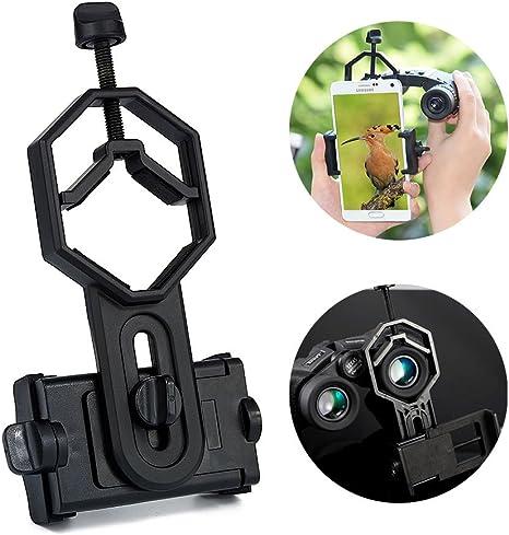 Surplex Universal Adaptador de Smartphone, prismáticos, telescopio ...