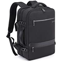 Extra Large Travel Laptop Backpack, Extensible Professional Business Laptops Bag with USB Charging Port and Earphone…