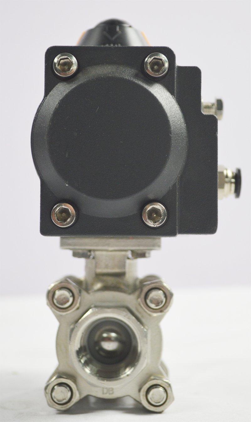3//4 Pneumatic Actuated Ball Valve Single Active Actuator