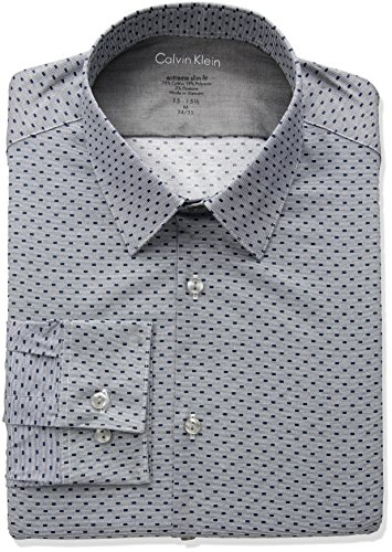 Calvin-Klein-Mens-Thermal-Stretch-Xtreme-Slim-Fit-Box-Print-Dress-Shirt