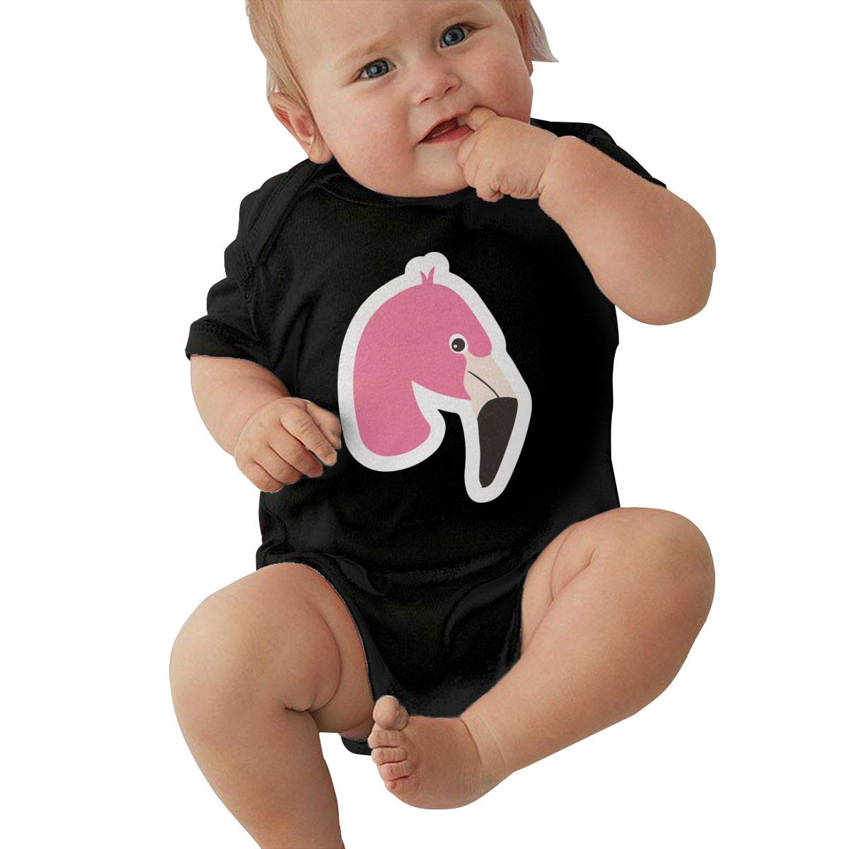 Minimal Flamingo Cartoon Baby Boys Original 100/% Cotton Jumpsuit