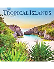 Tropical Islands 2021 Calendar: Foil Stamped Cover