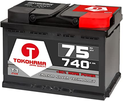 NRG Autobatterie 12V 74Ah ersetzt 68AH 70AH 72AH 75AH 77AH 80AH Batterie KFZ