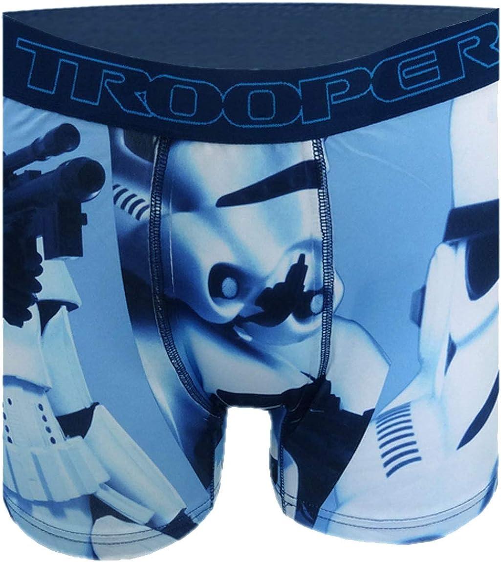 WebUndies.com Super Trooper Men's Light Blue Boxer Brief