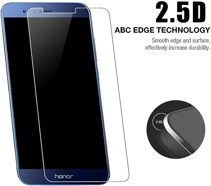 Huawei Honor 8 Pro Protector de pantalla, cobertura completa, 9h ...