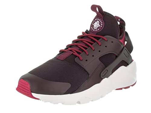 3549b0e31875 Nike Men s Air Huarache Run Ultra Port Wine Bordeaux Noble Red Running Shoe  10.5 Men US  Buy Online at Low Prices in India - Amazon.in