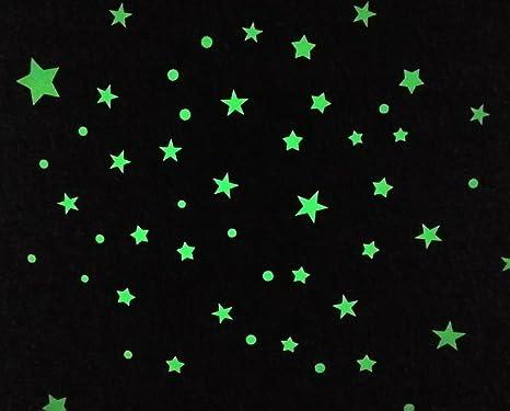 400pcs Kids Ceiling Dot Wall Stickers Bedroom Glow in Dark like Stars Decoration