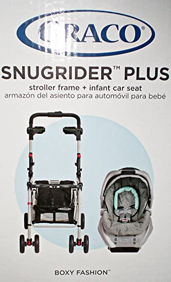 Graco Baby SnugRider Plus Stroller Frame Infant Car Seat Snug Rider Discontinued By Manufacturer