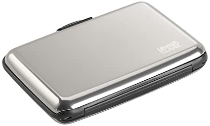 0f9e7aac62ec Amazon.com   Lewis N. Clark Rfid Aluminum Wallet, Silver, One Size ...