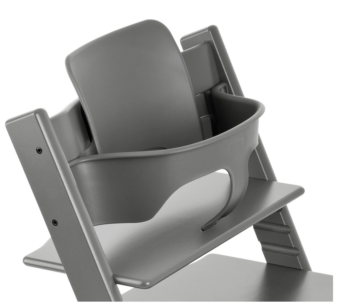 Stokke Tripp Trapp Chair Baby Set, No Harness, Storm Grey