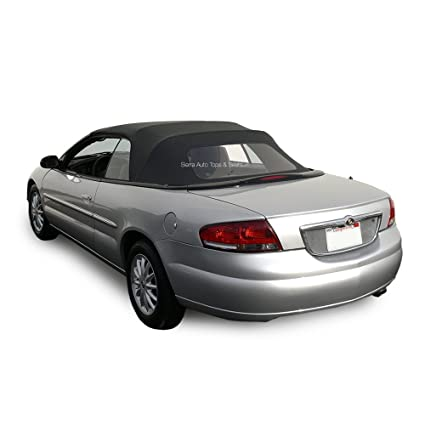 chrysler sebring convertible rear glass replacement