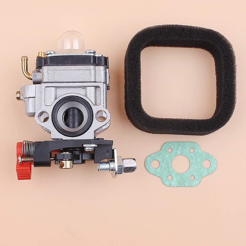 Tiempo Beixi Kit de Filtro de Aire del carburador for Kawasaki Th23 Th26 TH34 Kaaz Oleo-Mac Bv162 23cc 25cc 26cc 33cc 35cc Trimmer soplador: Amazon.es: Hogar