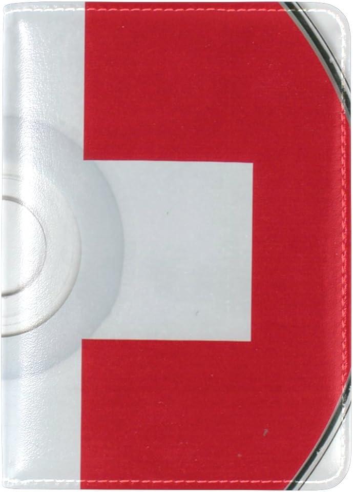 LEISISI Eminem Album Genuine Real Leather Passport Holder Cover Travel Case
