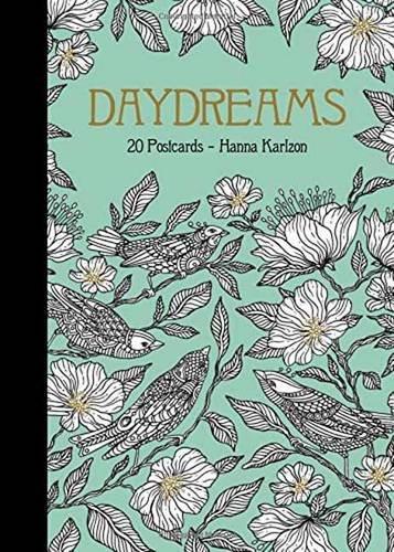 Daydreams 20 Postcards: Originally Published in Sweden as Dagdrömmar: 20 vykort att färglägga (Daydream Coloring Series) Graphic Design Postcards