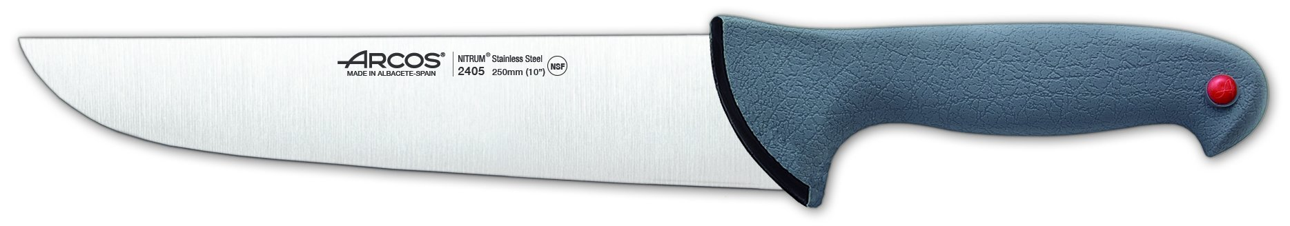 Arcos 10-Inch 250 mm Colour-Prof Butcher Knife